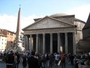 Pantheon an der Piazza della Rotonda