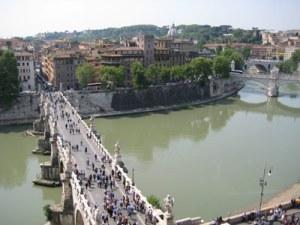 Ponte Sant'Angelo über den Tiber