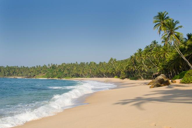 Strand bei / Beach near Tangalle