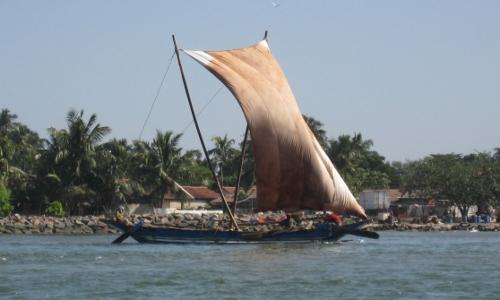 Traditioneller Katamaran / Traditional catamaran