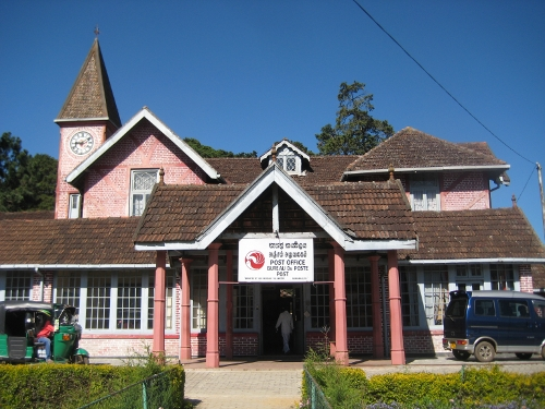Poststelle in Nuwara Eliya / Post Office in Nuwara Eliya