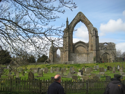 Ruins of the priory at Bolton Abbey