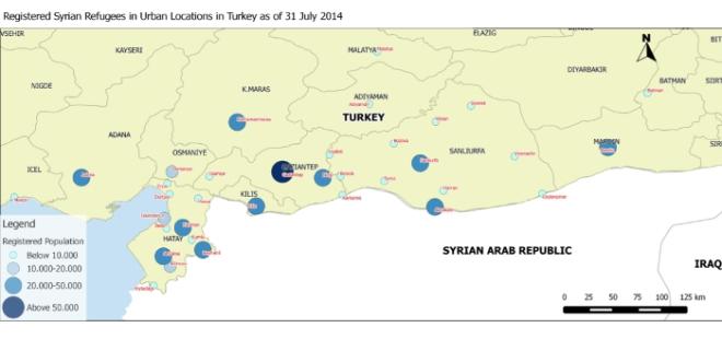 Syrische Flücthlinge in Städten / Syrian refugees in urban locations