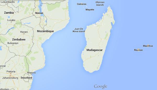 Map mada